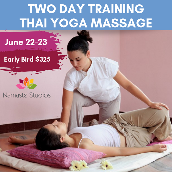 Thai Yoga Massage - 2 Day Training with Maria Jakubik