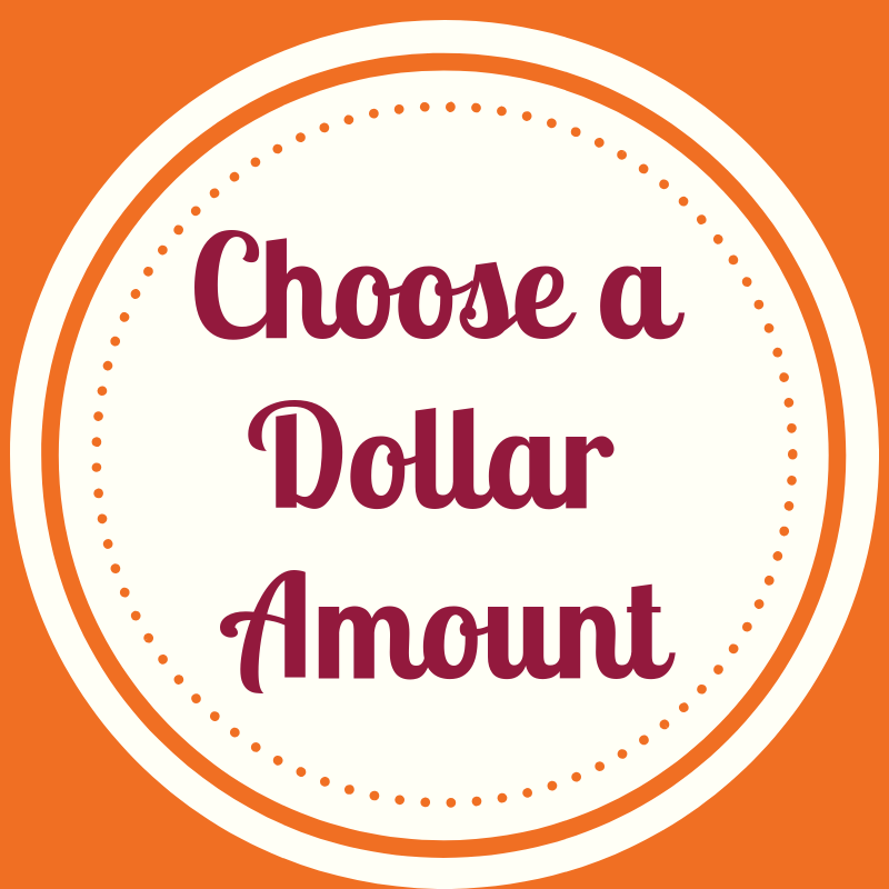 GIFT CERTIFICATE - Choose a Dollar Amount