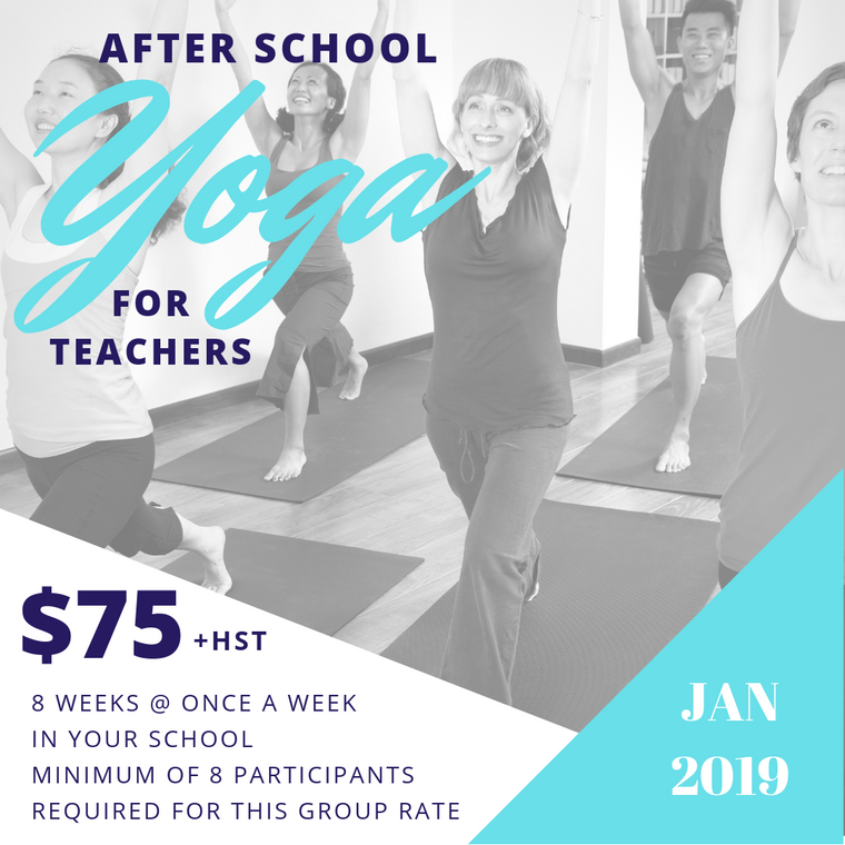 After School Yoga for Teachers