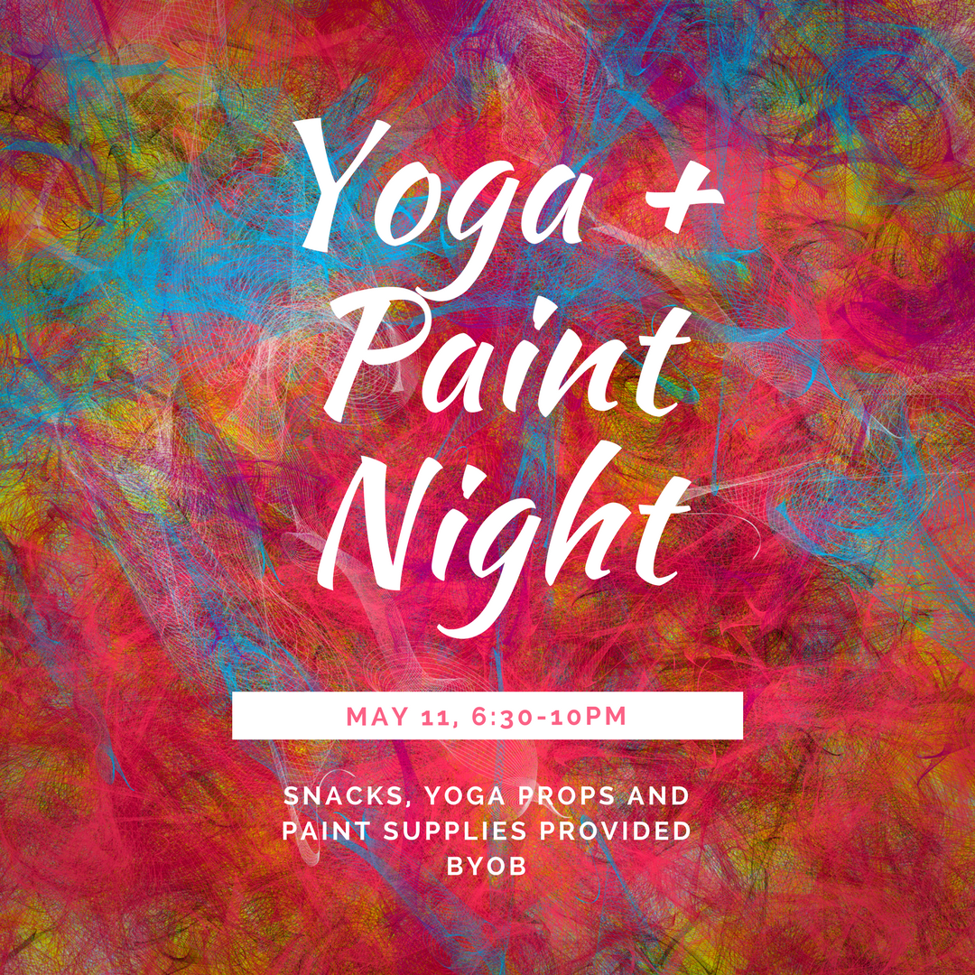Adult Yoga + Paint Night