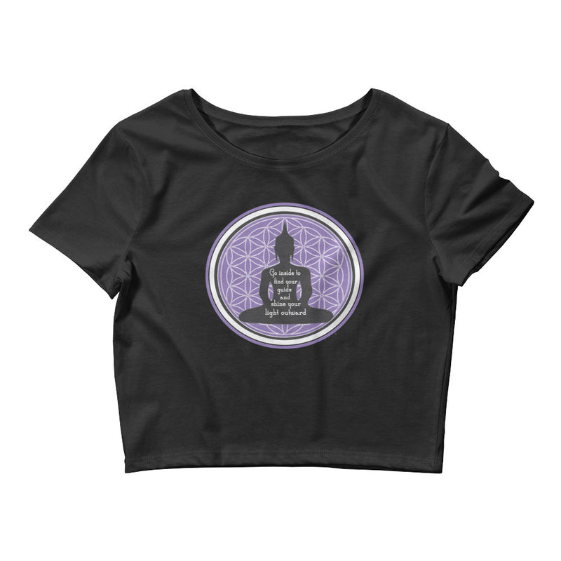 GURU Tee - Women's Crop Top