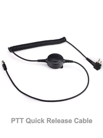 PTT Quick-Release Cable