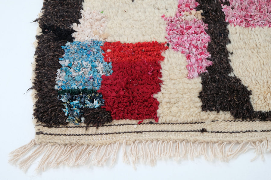 Boucharouite rug   6.75 ft x 3.60 ft - [All moroccan rugs]