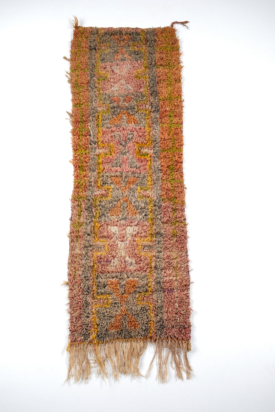 Boucharouite rug   7.87 ft x 3.80 ft - [All moroccan rugs]
