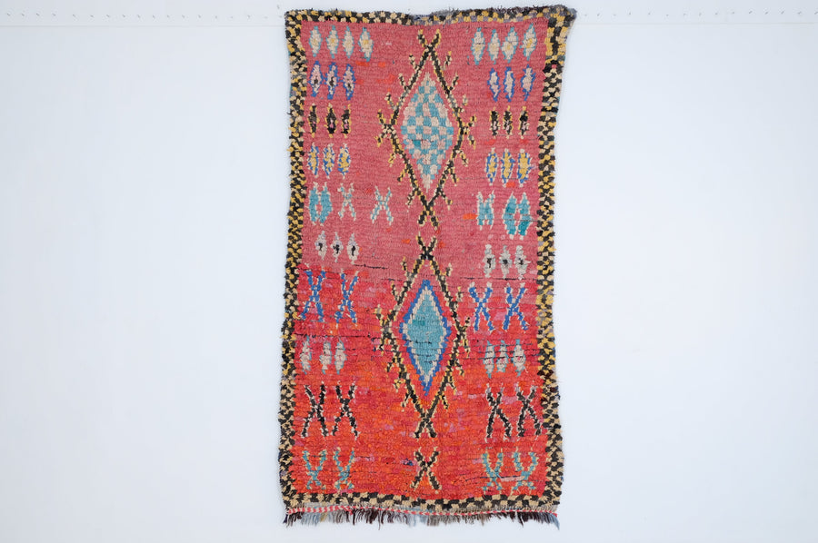Boucharouite rug  8.10 ft x 4.46 ft - [All moroccan rugs]