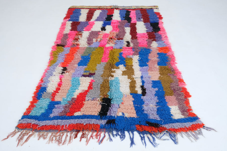 Boucharouite rug  6.88 ft x 4.16 ft - [All moroccan rugs]