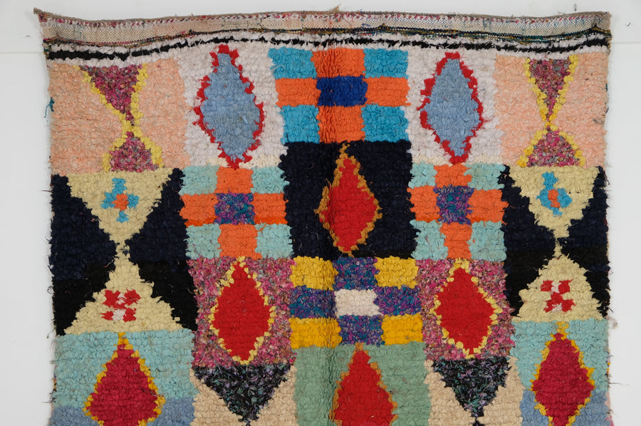 Boucharouite rug    7.15 ft x 4.49 ft Missing price - [All moroccan rugs]