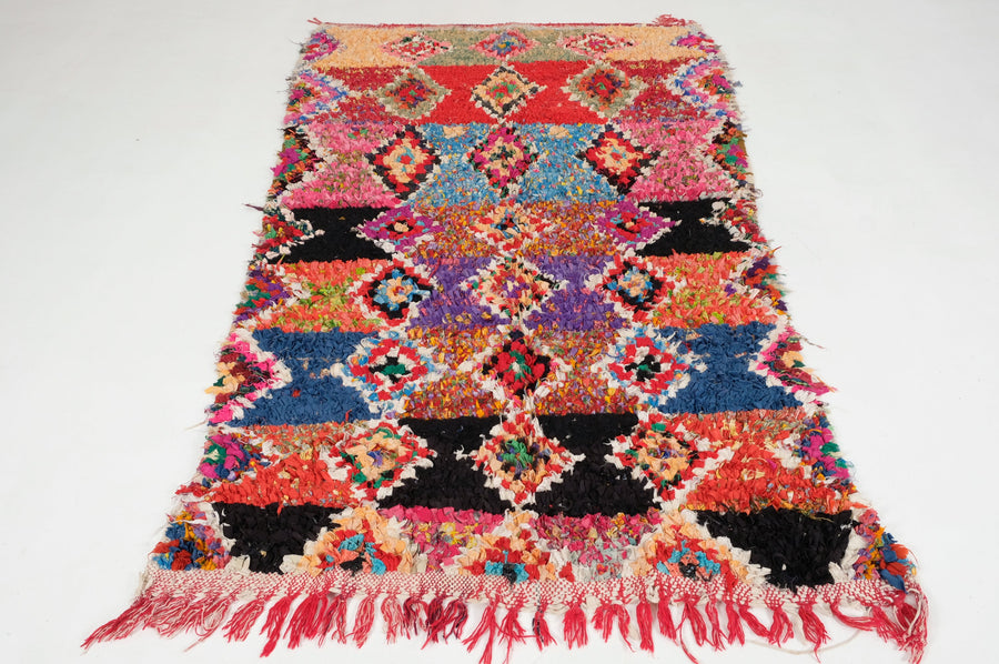 Boucharouite rug  7.21 ft x 4.26 ft - [All moroccan rugs]