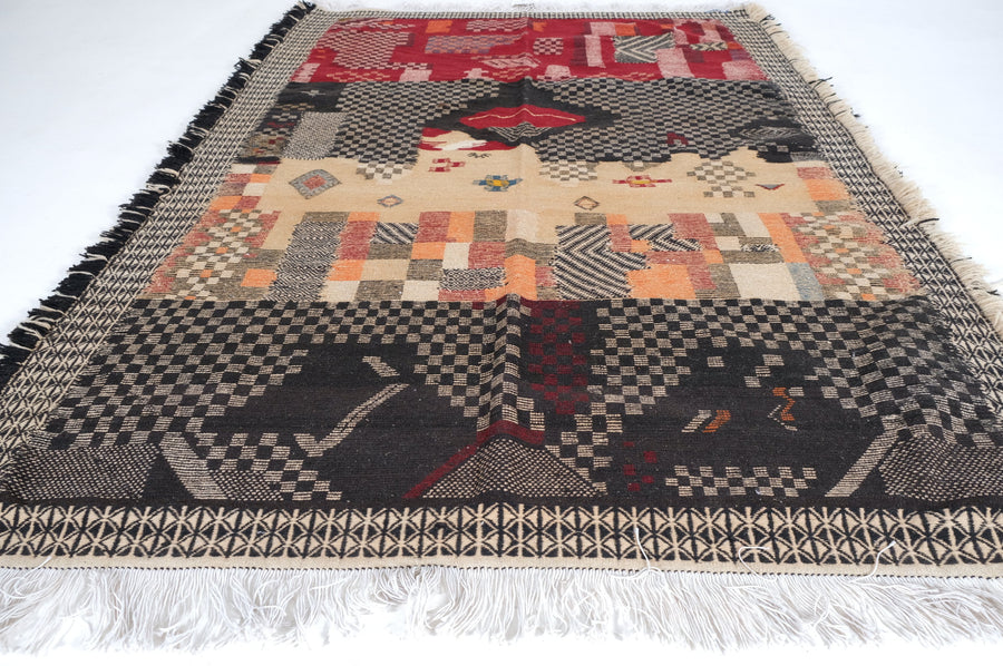 Taznakht rug 7.74 ft x 5.24 ft - [All moroccan rugs]