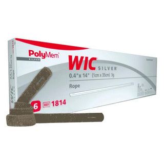 POLYMEM WIC SILVER ROPE NON-ADHESIVE DRESSING 0.4