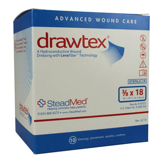 DRAWTEX HYDROCONDUCTIVE WOUND DRESSING, ROPE 18