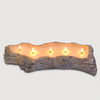 Ceramic Driftwood Candle
