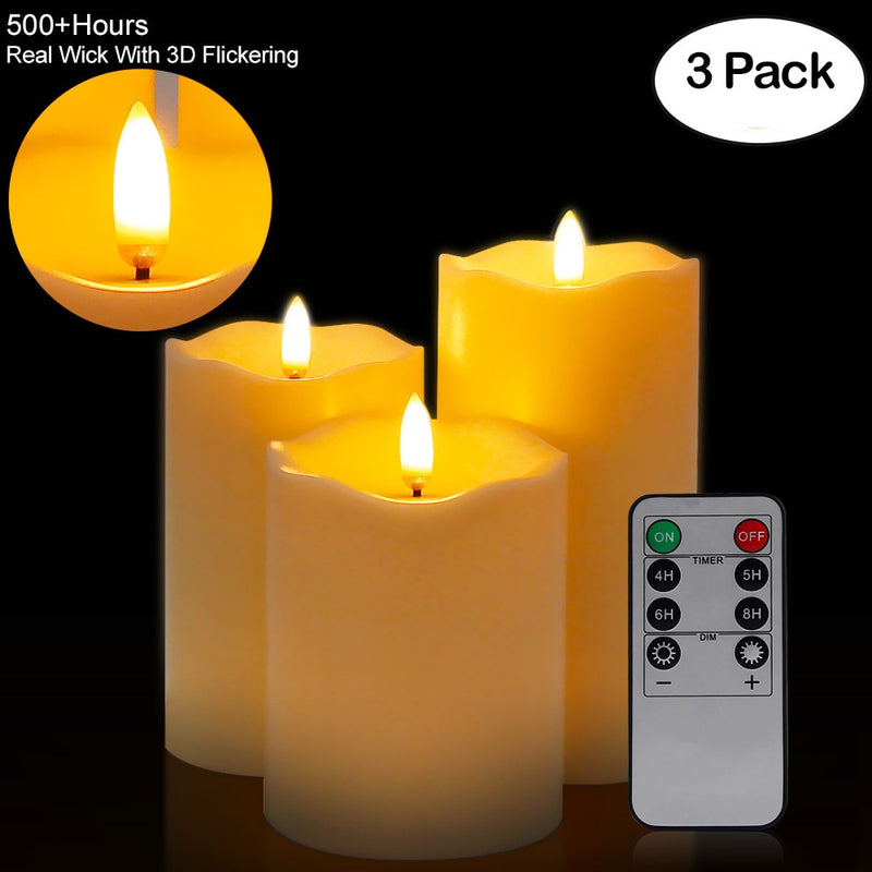 Remote Control LED Flameless Candle Lights