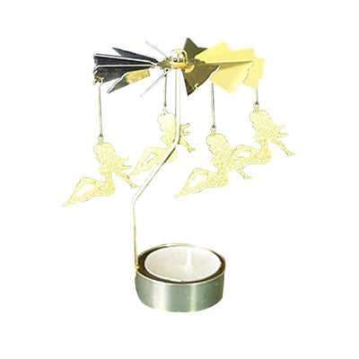 Rotating Romantic Candle Holder