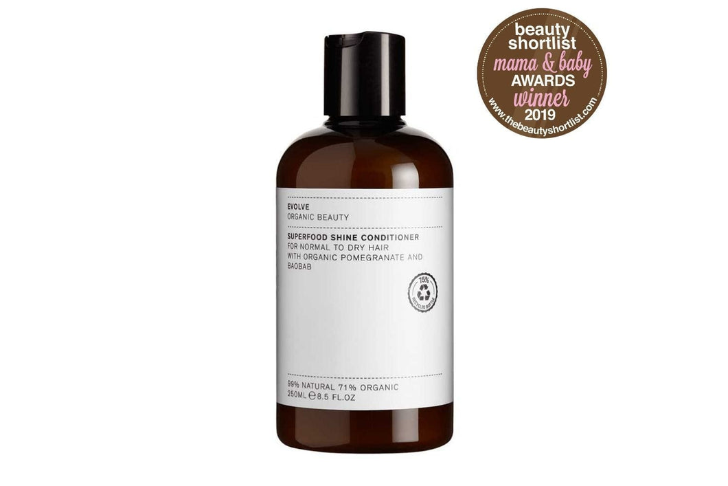 Evolve Beauty Conditioner Superfood Shine Natural Conditioner