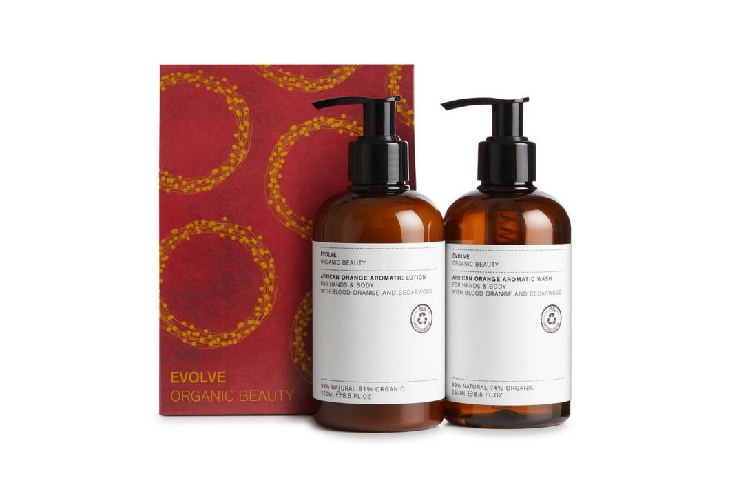 Evolve Organic Beauty Bodycare African Orange Aromatic Infusions