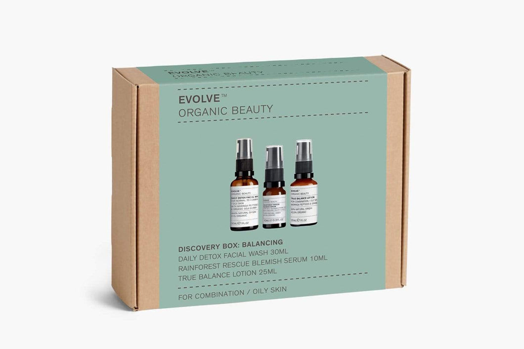 Evolve Organic Beauty Discovery Box: Balancing
