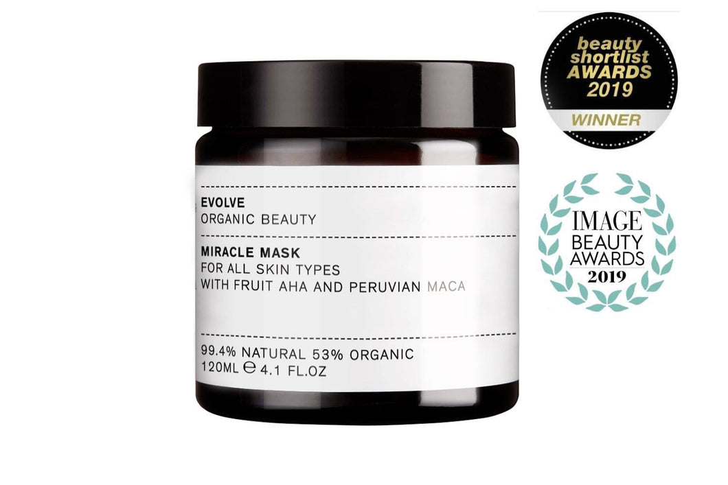 Evolve Organic Beauty Miracle Organic Face Mask - Supersize - Outlet
