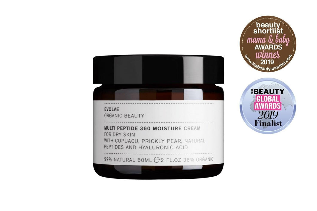 Evolve Organic Beauty Skincare Multi Peptide 360 Moisture Cream