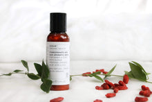 Load image into Gallery viewer, Evolve Skincare Pomegranate and Goji Aromatic Hand & Body Wash - Travel Size
