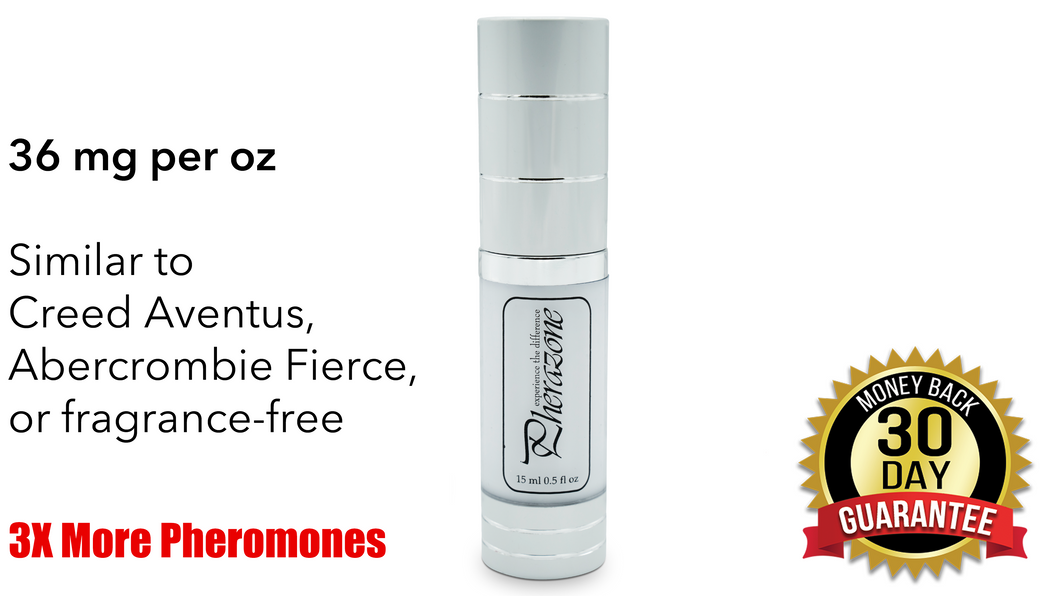 1 Bottle Pherazone Moisturizer for Men (36mg pheromones/oz)