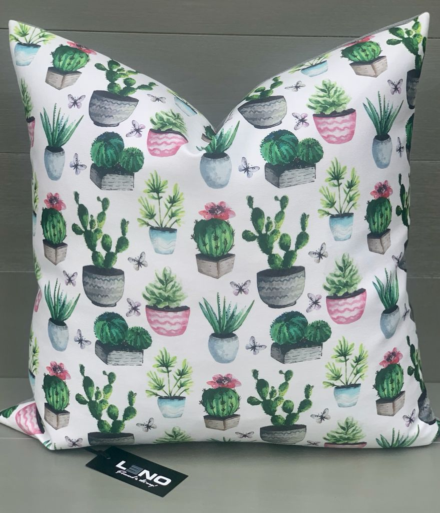 Multiple Cactus Scatter Cushion