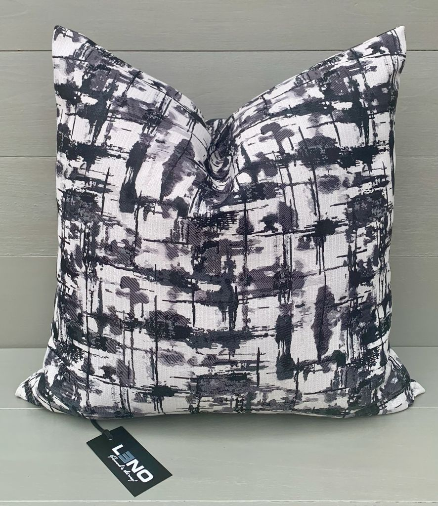 Grey and White Scatter Cushion