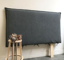 Load image into Gallery viewer, Chelsea Headboard - Linen Blend Fabric Slip Cover