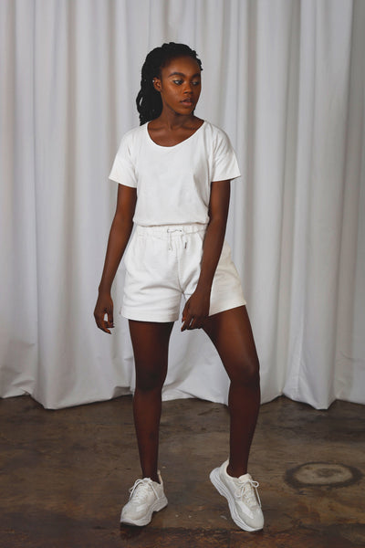 Gunnel Short - White
