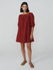 Barton Square Neck Mini Dress