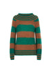Big Stripe Knit Jumper