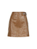 Bowery Leather Skirt