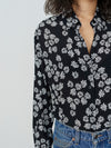 After Hours Flowers Loose Shirt