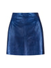 Moonlight Leather Mini Skirt