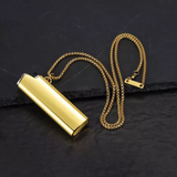 GOLD LIGHTER COVER CHAIN