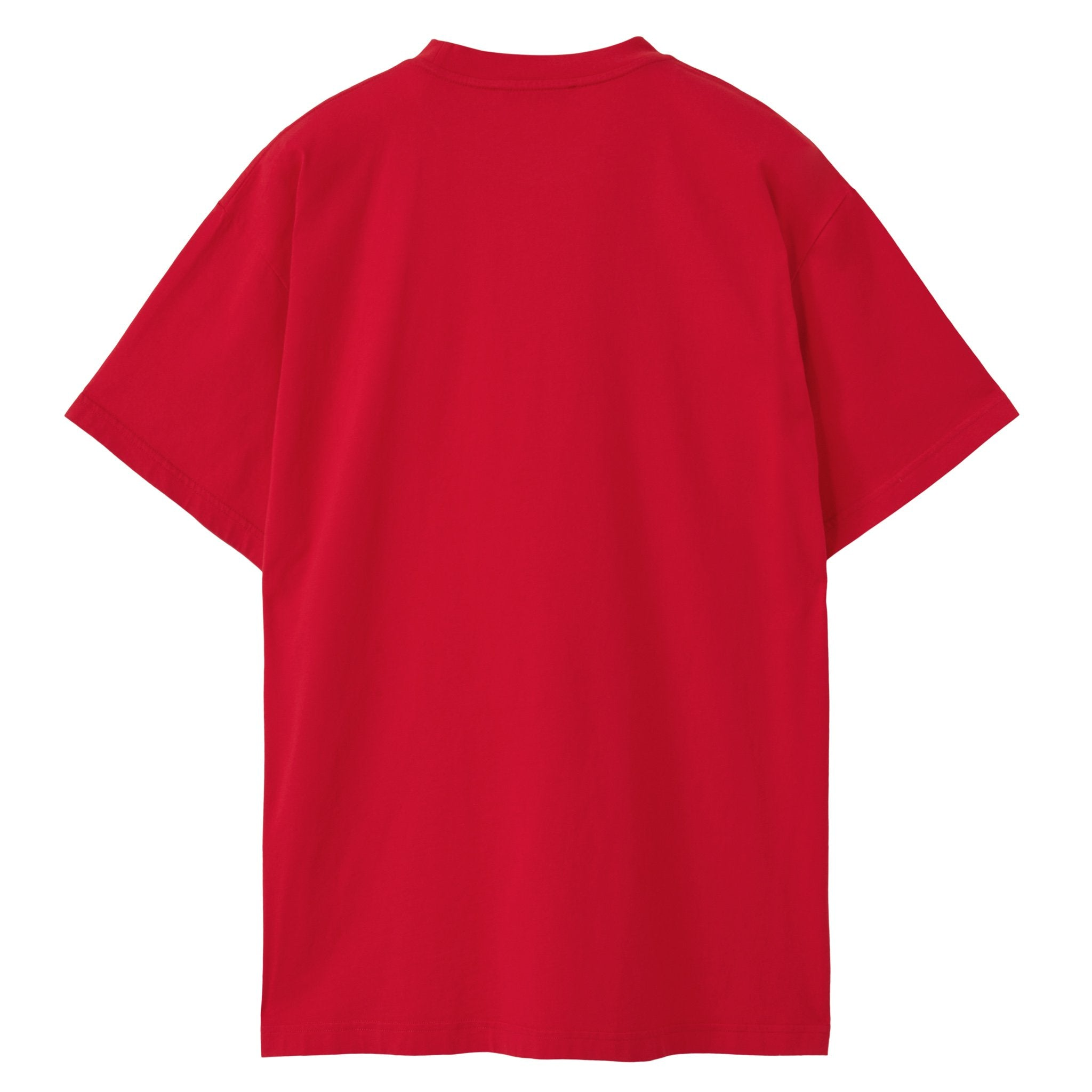 Gym Logo T-Shirt - CRIMSON