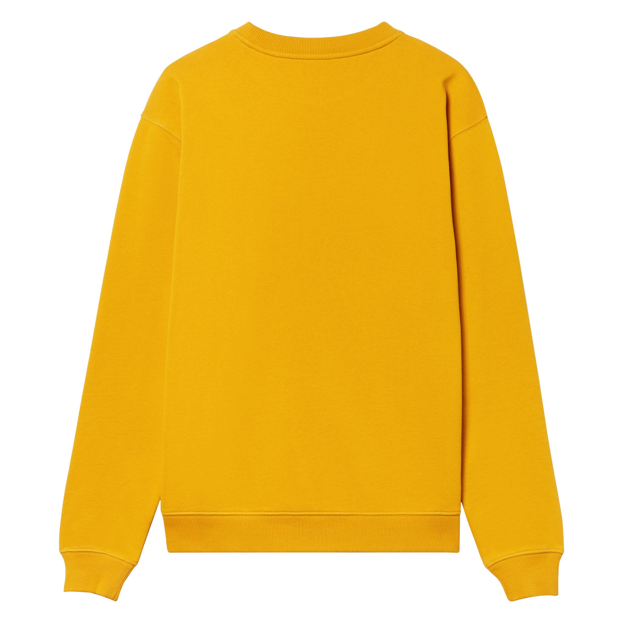 Gothic Font Crew Neck - COLLEGIATE GOLD