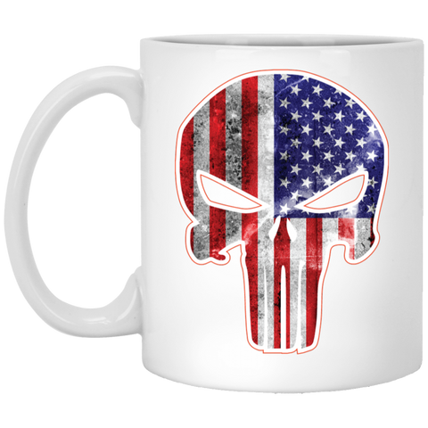 American Punisher -  11 oz. White Mug