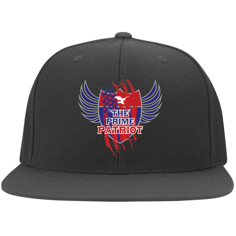The Prime Patriot -  Flat Bill Twill Flexfit Cap