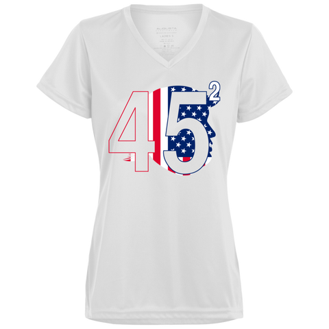 Trump 45.2 -  Ladies' Wicking T-Shirt