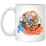 American Eagle -  11 oz. White Mug