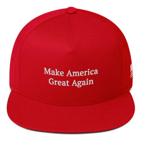 Make America Great Again - Flat Bill Cap