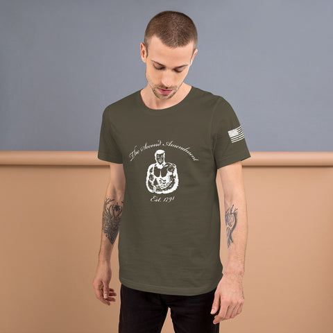 Bear Arms - Short-Sleeve Unisex T-Shirt