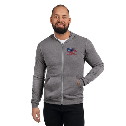 The Prime Patriot - Unisex Zip Hoodie