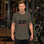 22 A Day - Short-Sleeve Unisex T-Shirt
