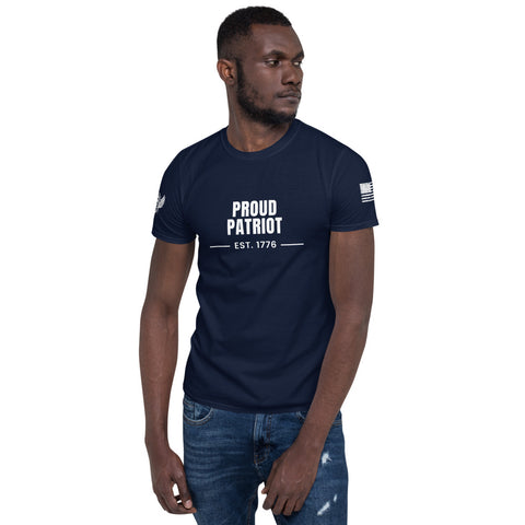 Proud Patriot Member MEO -Short-Sleeve Unisex T-Shirt