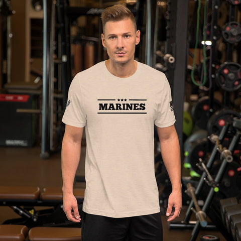 Marines - Short-Sleeve Unisex T-Shirt