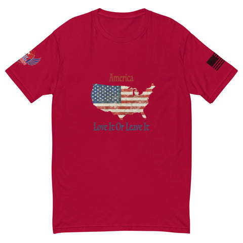 America Love It Or Leave It - Short Sleeve T-shirt