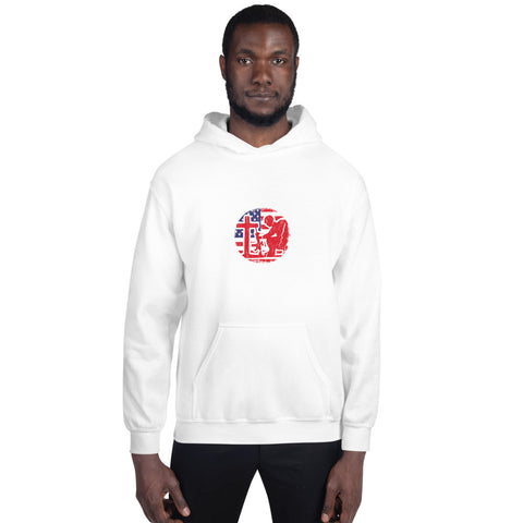 Stand for the Flag Kneel for the Cross - Unisex Hoodie
