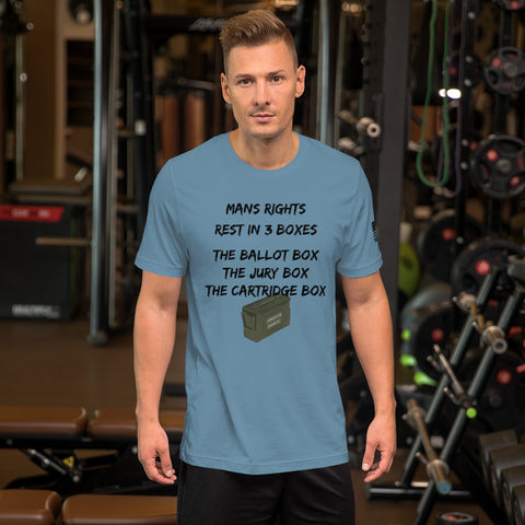 Mans Rights - Short-Sleeve Unisex T-Shirt